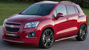 irmscher chevrolet trax - big wheels and nice style