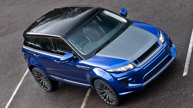 Royalty Kahn Range Rover Evoque Imperial Blue Rs250