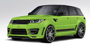 LUMMA Design Range Rover Sport CLR RS Delivers More On-Road Aggressiveness