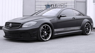 Famous Parts Mercedes-Benz CL 500 Black Matte Edition