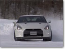 2013 Nissan GT-R Hits The Powder [VIDEO]