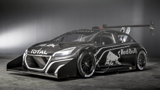 Peugeot 208 T16 Pikes Peak Racer Revealed [VIDEO]