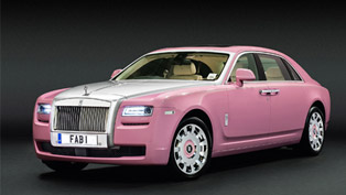 Rolls-Royce Ghost Extended Wheelbase Supports FAB1 Million and Breast Cancer Care
