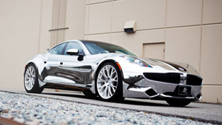brilliantly bright: sr auto fisker karma chrome