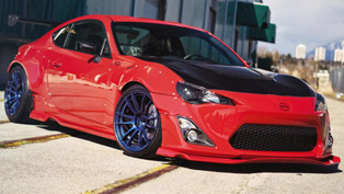 sr auto group scion fr-s - wide body kit