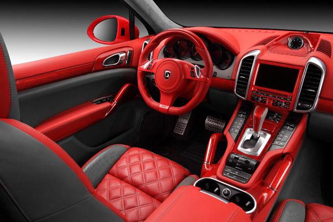 topcar porsche cayenne vantage ii red dragon. Black Bedroom Furniture Sets. Home Design Ideas