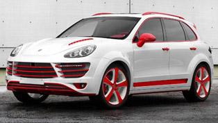 TopCar Porsche Cayenne Vantage II Red Dragon