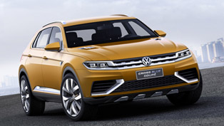 Debut For Volkswagen CrossBlue Coupe Concept In China