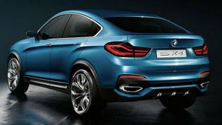 BMW Concept X4 [video]