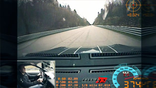 Nissan GT-R AMS Alpha 12+: 1 mile Top Speed 374 km/h [video]