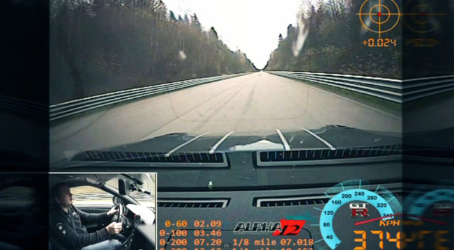 Nissan Gt R Ams Alpha 12 1 Mile Top Speed 374 Km H Video
