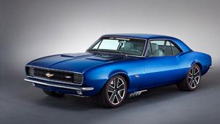 1967 Chevrolet Camaro Hot Wheels Concept Debuts At Hot Rod Power Tour