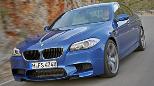 BMW F10 M5 sets Guiness World Drift Record - 82.5 km
