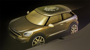 2013 mini paceman by roberto cavalli supports the life ball in vienna
