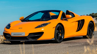 2013 mclaren 50 12c and 12c spider - price £196,000 and £215,500