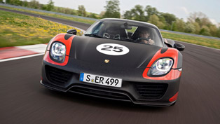 2013 Porsche 918 Spyder Prototype Enters Production