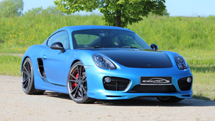 2013 SpeedART Porsche Cayman SP81-CR Revealed