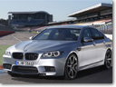 2014 BMW M5 and M6 with optional Competition Package