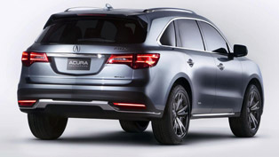 2014 Acura MDX - US Price $42,290