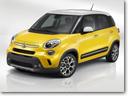 2014 Fiat 500L - US Price $19,100