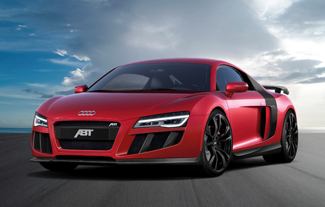 Abt Sportsline Has Announced Their Latest Project Based On 2017 Audi R8 V10 The Super Sports Car Boasts Both Styling And Performance Modifications