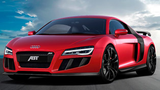 abt audi r8 v10 -  600hp and 550nm