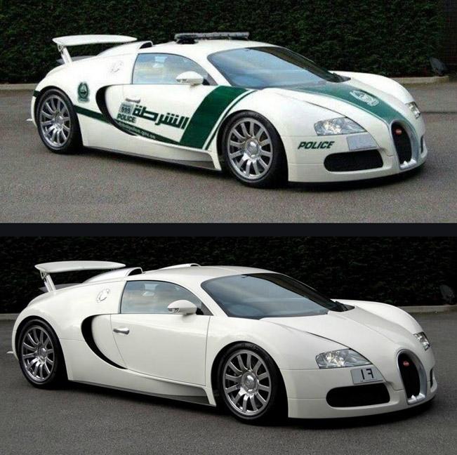 Bugatti Veyron Police Car Proves To Be Fake