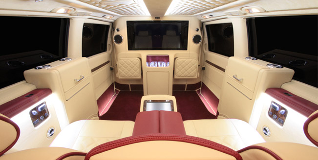premium interior carisma auto design mercedes benz viano. Black Bedroom Furniture Sets. Home Design Ideas