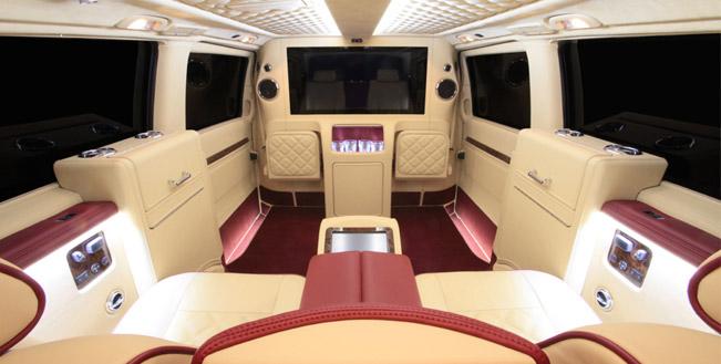 Premium interior carisma auto design mercedes benz viano for Interior mercedes viano
