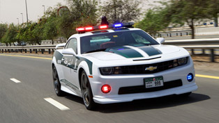 Chevrolet Camaro SS Joins Dubai Police Force