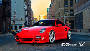 EXUBERANCE: D2Forged Porsche 997TT CV13