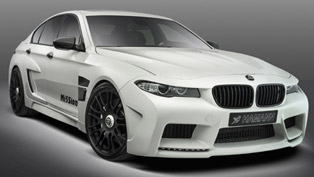 Alpine-White Hamann Mi5Sion based on BMW F10 M5