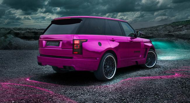 Range Rover Evoque Interior >> Hamann Pink Range Rover Sport