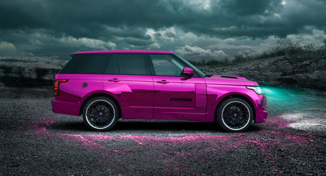 Range Rover Convertible >> Hamann Pink Range Rover Sport