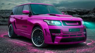 Hamann Pink Range Rover Sport