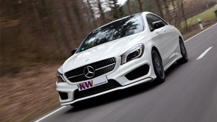 KW Mercedes-Benz CLA-Class Offers Better Driving Dynamics