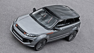 Kahn Range Rover Evoque RS250 In Striking Orkney Grey