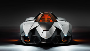 Lamborghini Egoista On Stage [VIDEO]