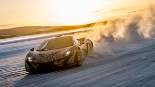 mclaren p1 being driven in extremes [video]