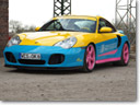 Manta Porsche 996 Turbo Transformed by OK-Chiptuning