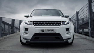 prior design range rover evoque pd650 equipped with widebody aerodynamic-kit