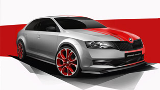 Skoda Rapid SPORT Concept To Debut At Woerthersee