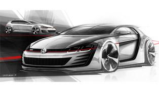 Premiere: Volkswagen Design Vision GTI Concept