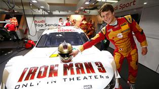 Iron Man And Audi DTM Racing Team [VIDEO]
