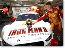 Iron Man And Audi DTM Racing Team [VIDEO]