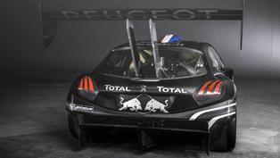 Sebastien Loeb with Peugeot 208 T16 hits Pikes Peak