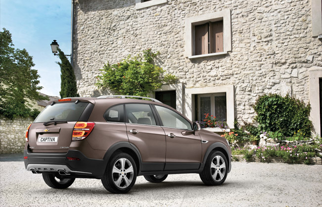 2013 Chevrolet Captiva Uk Price 21295