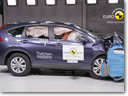 2013 Honda CR-V – 5 Stars in Euro NCAP Crash Test