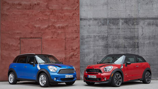 mini countryman and mini paceman updated for the summer
