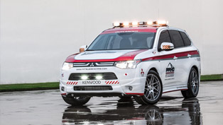 mitsubishi outlander is official safety vehicle for pikes peak
